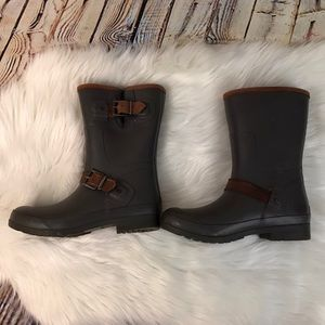 Sperry Buckle Rain Boots